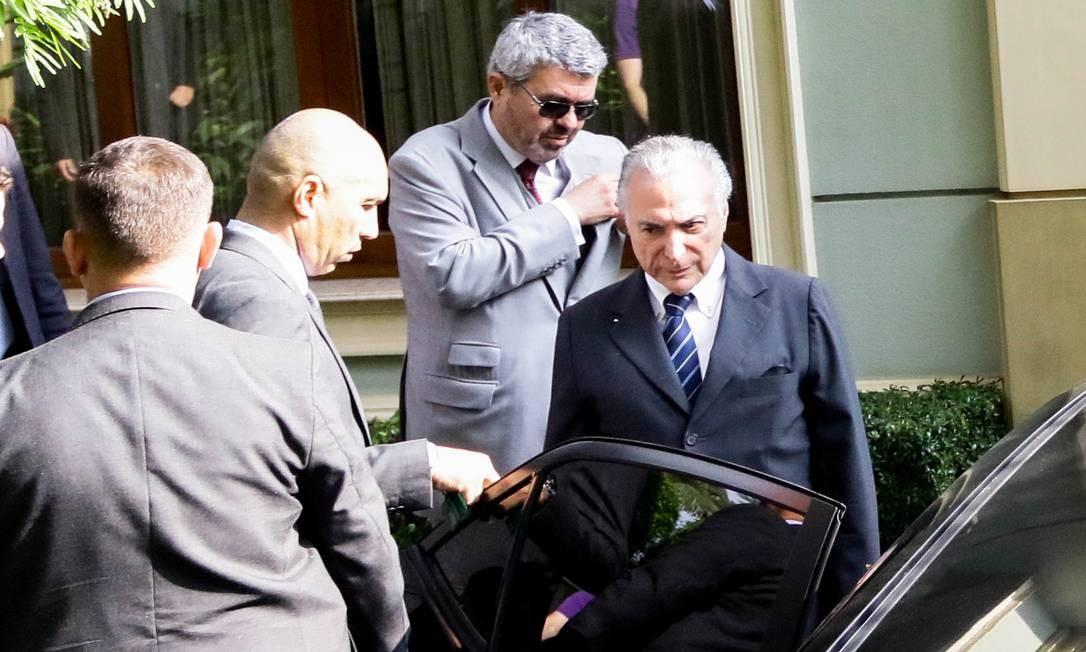 Os advogados do ex-presidente pediram que ele fique preso em São Paulo, e não no Rio, onde corre a ação em que é réu Foto: Aloisio Mauricio/Fotoarena