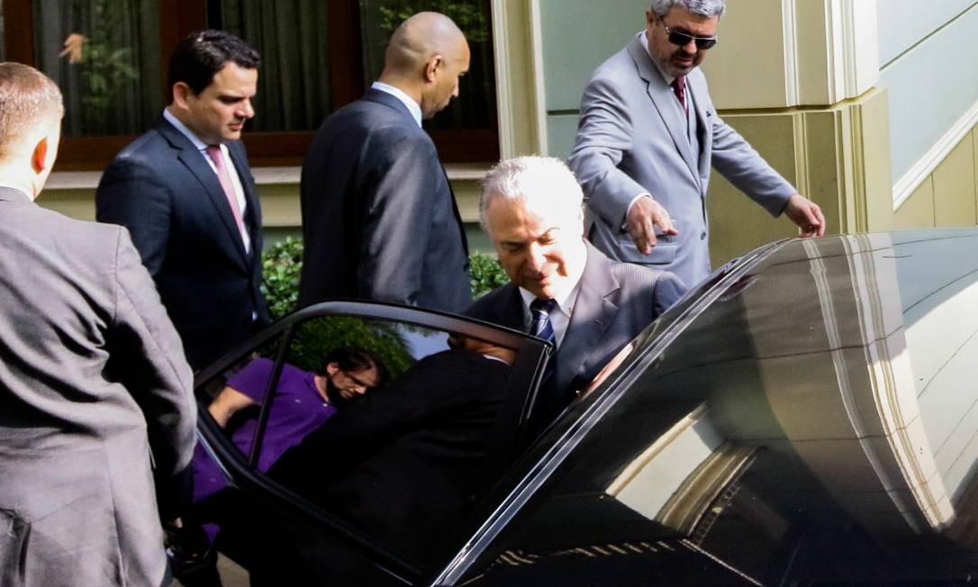 Temer é acusado de corrupção nas obras da usina nuclear Angra 3 Foto: Fotoarena / Mauricio/Fotoarena