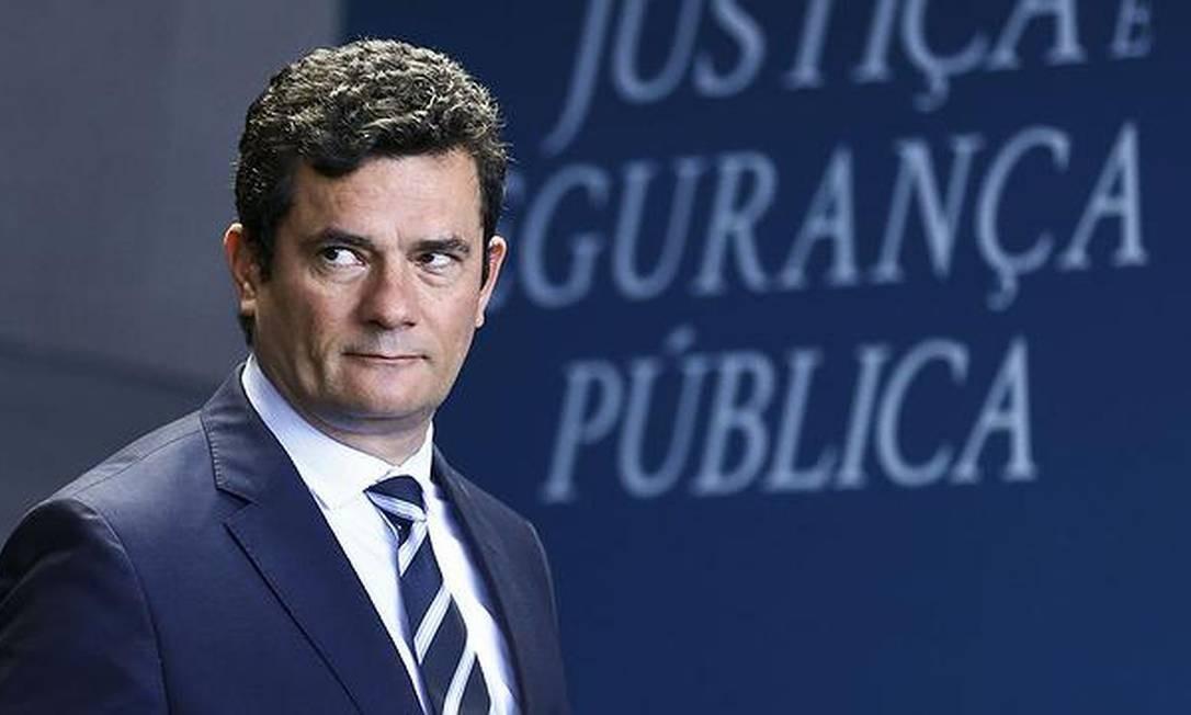 O ministro Sérgio Moro será o alvo das punições do centrão. Foto: O Globo