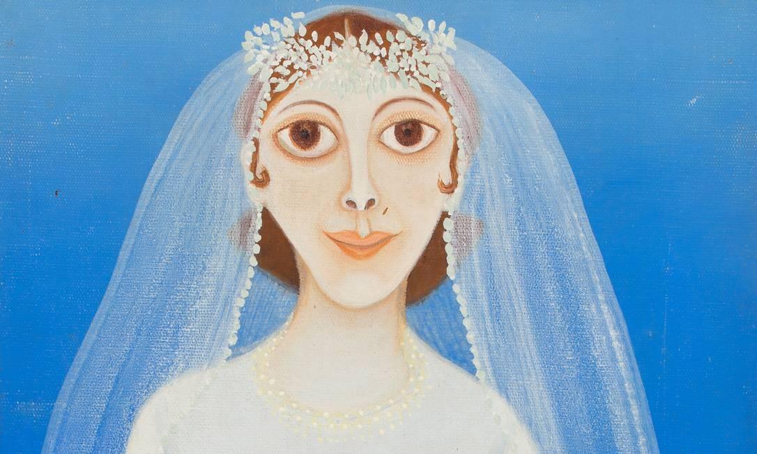 """A exposição """"Arte naïf - Nenhum museu a menos"""" será aberta neste sábado, às 15h, no Parque Lage. Na foto, """"A noiva"""", de 1973, de Elza O. S. Foto: Divulgação"""