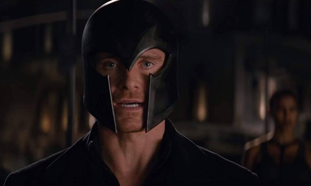 Michael Fassbender como o mutante Magneto Foto: Divulgação
