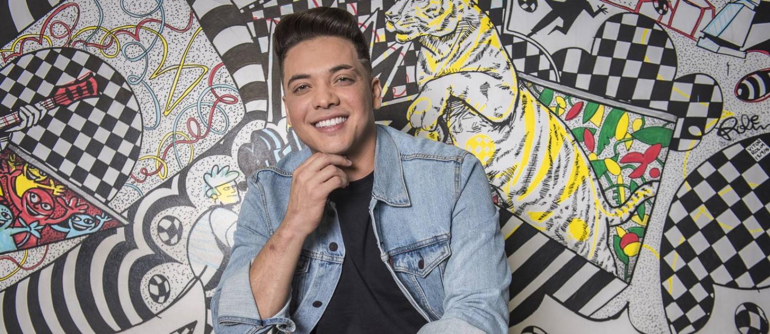 Wesley Safadão, que vai comandar o 'So toca top', na rede Globo, ao lado da cantora e atriz Lucy Alves Foto: Fábio Rocha / Divulgação