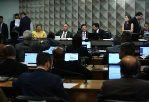 Comissão especial mista analisa MP de Bolsonaro que mudou estrutura do governo Foto: Jorge William / Agência O Globo