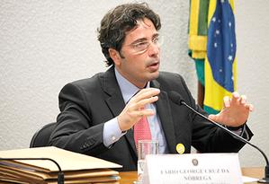 O presidente da Associação Nacional dos Procuradores da República (ANPR),Fábio George Foto: Divulgação