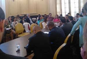 Nove testemunhas de acusação são ouvidas na Câmara dos Vereadores Foto: Lucas Altino / Agência O Globo