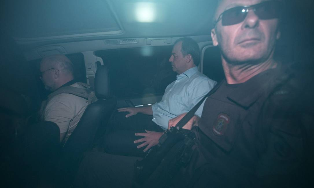 """Em 17 de novembro de 2016, a Polícia Federal prendeu o ex-governador do Rio Sérgio Cabral e mais sete pessoas durante a operação """"Calicute"""" Foto: Guito Moreto / Agência O Globo"""