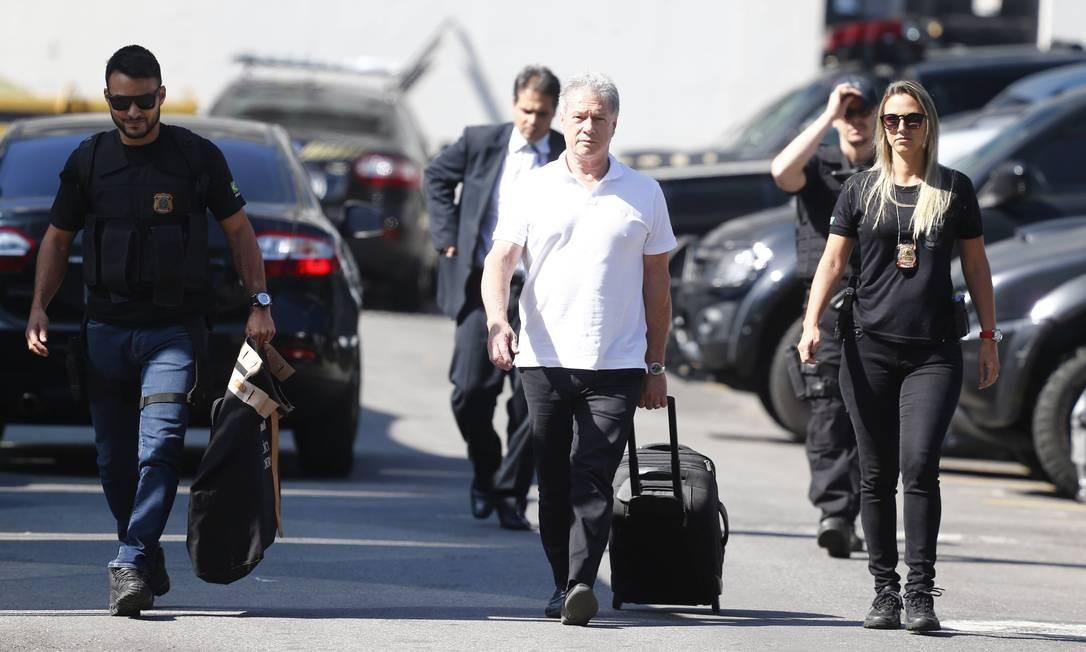 """Também na operação """"Ponto Final"""", foi preso Jacob Barata Filho, um dos maiores empresários do ramo de ônibus do Rio. De acordo com a operação, foram rastreados R$ 260 milhões em propina pagos pelos investigados a políticos do estado Foto: Pablo Jacob / Agência O Globo"""