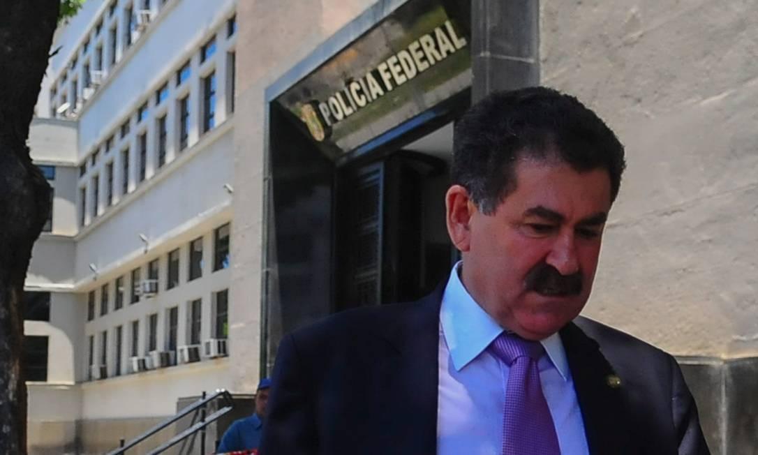 Junto com Picciani, também foram presos o deputado estadual Paulo Melo (MDB).... Foto: Armando Paiva / Raw Image / Agência O Globo