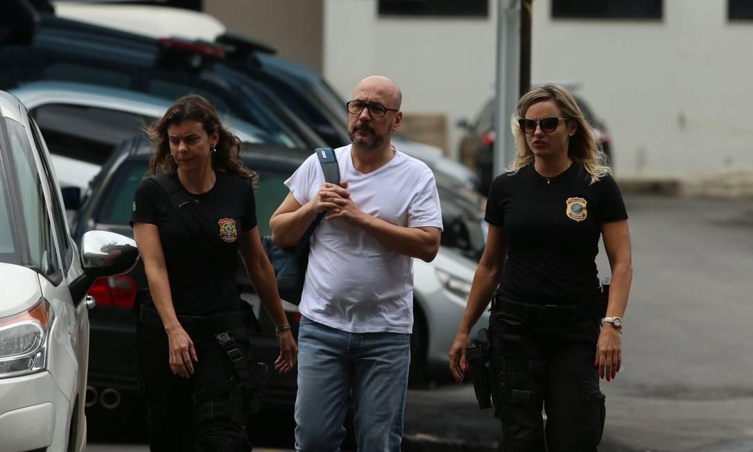 No dia 23 de fevereiro de 2018, a operação Lava-Jato no Rio também prendeu Orlando Diniz, presidente da Fecomércio, por supeita de desvio de dinheiro do Sistema S Foto: Fabiano Rocha / Agência O Globo