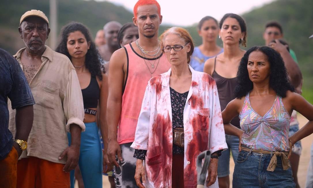 Sônia Braga em cena do filme brasileiro 'Bacurau' Foto: Divulgação