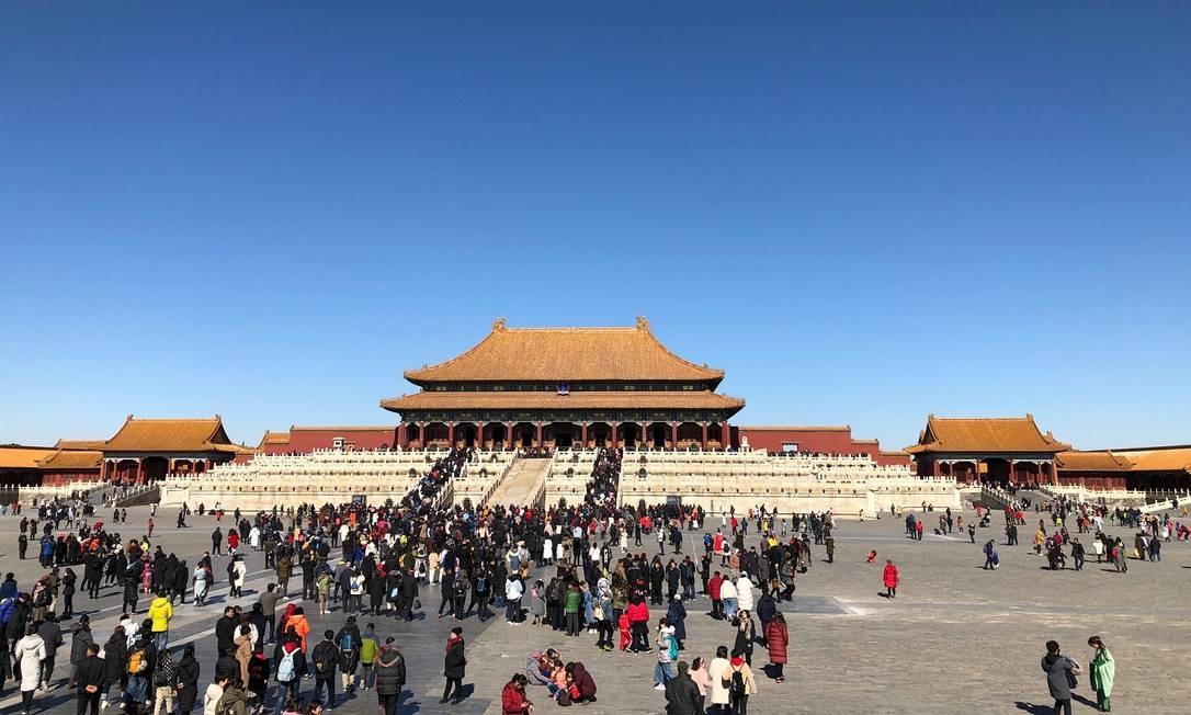 Cidade Proibida, em Pequim Foto: Arquivo Pessoal/Bárbara Mendes