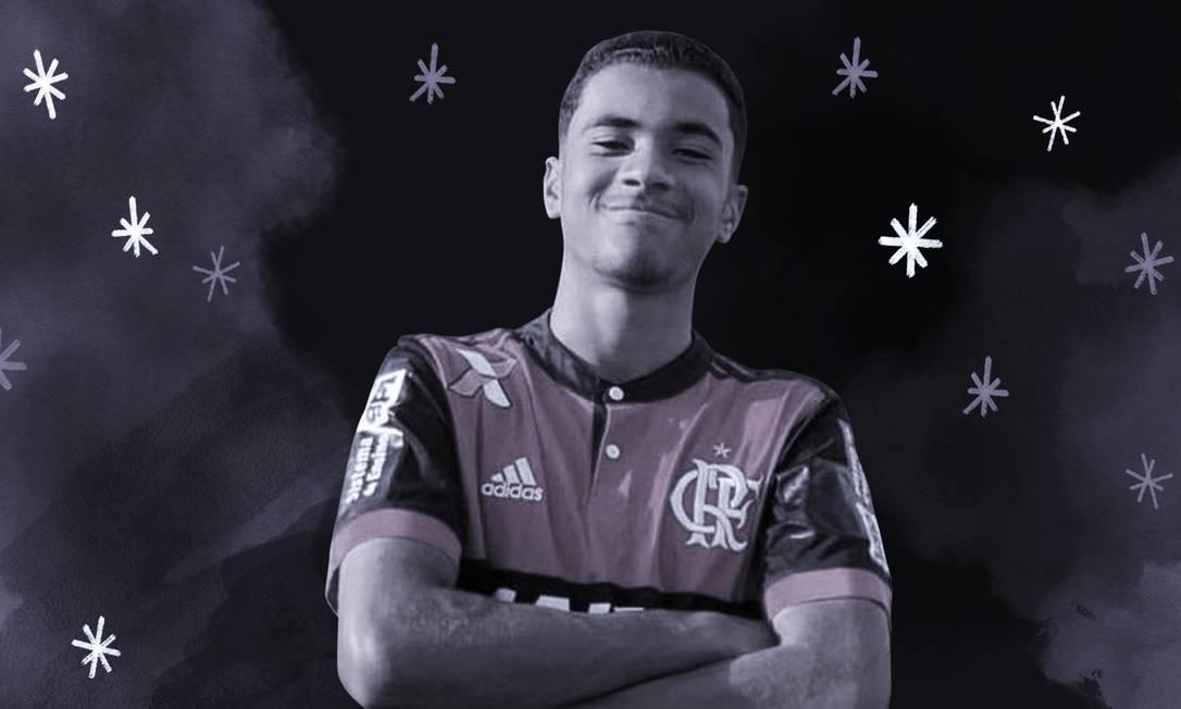 Arthur Vinícius Foto: Arte O Globo