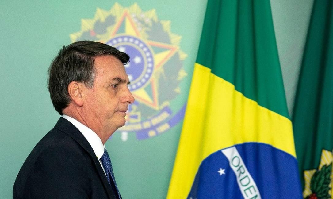 Presidente Jair Bolsonaro volta às redes sociais neste sábado para falar de medidas implementadas pelo governo Foto: / AFP