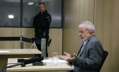 Lula durante entrevista Foto: ISABELLA LANAVE / AFP