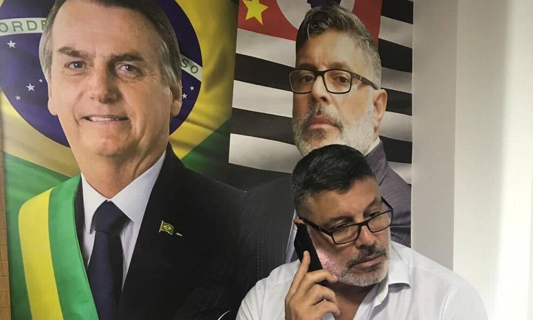 Resultado de imagem para Alexandre Frota diz que Eduardo Bolsonaro precisa â??deixar de ser mimadoâ?