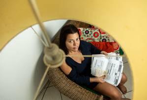 Alta repentina. A advogada Márcia Alvarez se queixa de aumento da conta, sem mudança de consumo: conta chegou a ser revista, agora Light diz que fatura está certa Foto: Brenno Carvalho