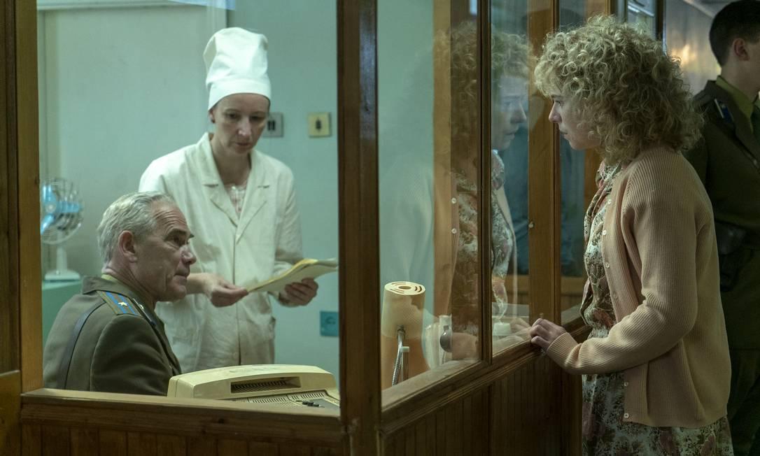 SC - Imagens da minissérie Chernobyl, da HBO
