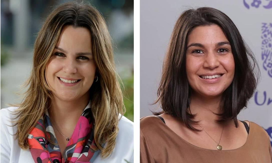 Carolina Mazzieiro e Liana Fecarotta dividem o mesmo cargo na diretoria de Recursos Humanos na Unilever. Cada uma trabalha três dias na semana Foto: Divulgação