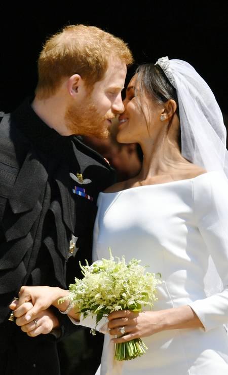 Prícipe Harry e Meghan há um ano Foto: WPA Pool / Getty Images