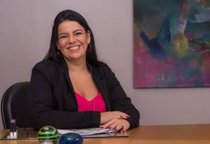 A psicóloga Sabrina Presman, presidente da Abead e diretora de clínica de tratamento em Botafogo, no Rio Foto: Divulgação
