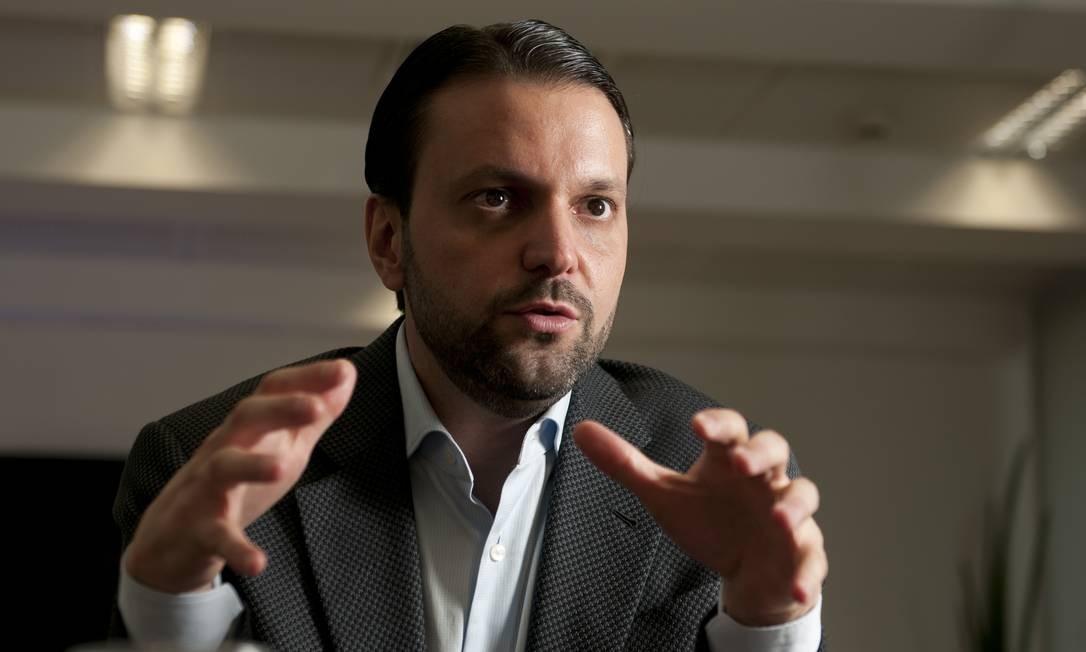 Alexandre Baldy, secretário de Transportes Metropolitanos do Estado de Sao Paulo Foto: Valor Econômico / Agência O Globo