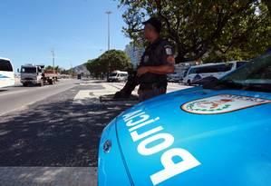Roubos aumentaram em Copacabana. Já a Tijuca teve queda dos números Foto: Paulo Vitor