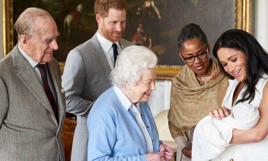 Meghan, Harry e Archie ganham um novo lar da rainha Foto: POOL / REUTERS
