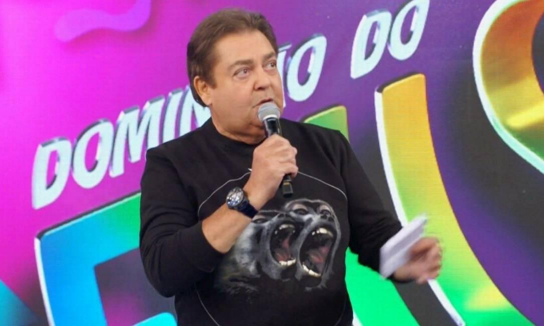 Faustão veste Givenchy Foto: Reprodução/ TV Globo