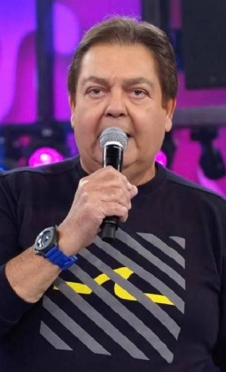 Faustão veste Paul & Shark Foto: Reprodução/ TV Globo