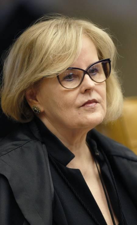 A ministra Rosa Weber Foto: Rosinei Coutinho / STF
