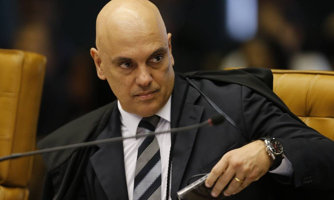 Na foto, o ministro Alexandre de Moraes Foto: Jorge William / Agência O Globo