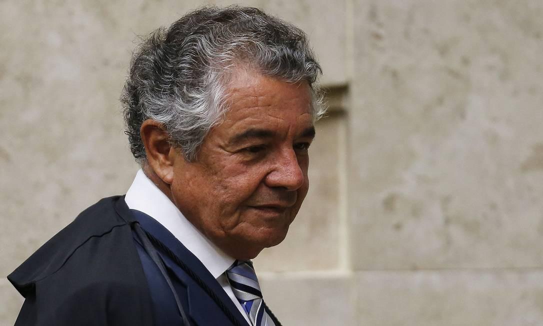 O ministro do STF Marco Aurélio Mello Foto: Jorge William / Agência O Globo