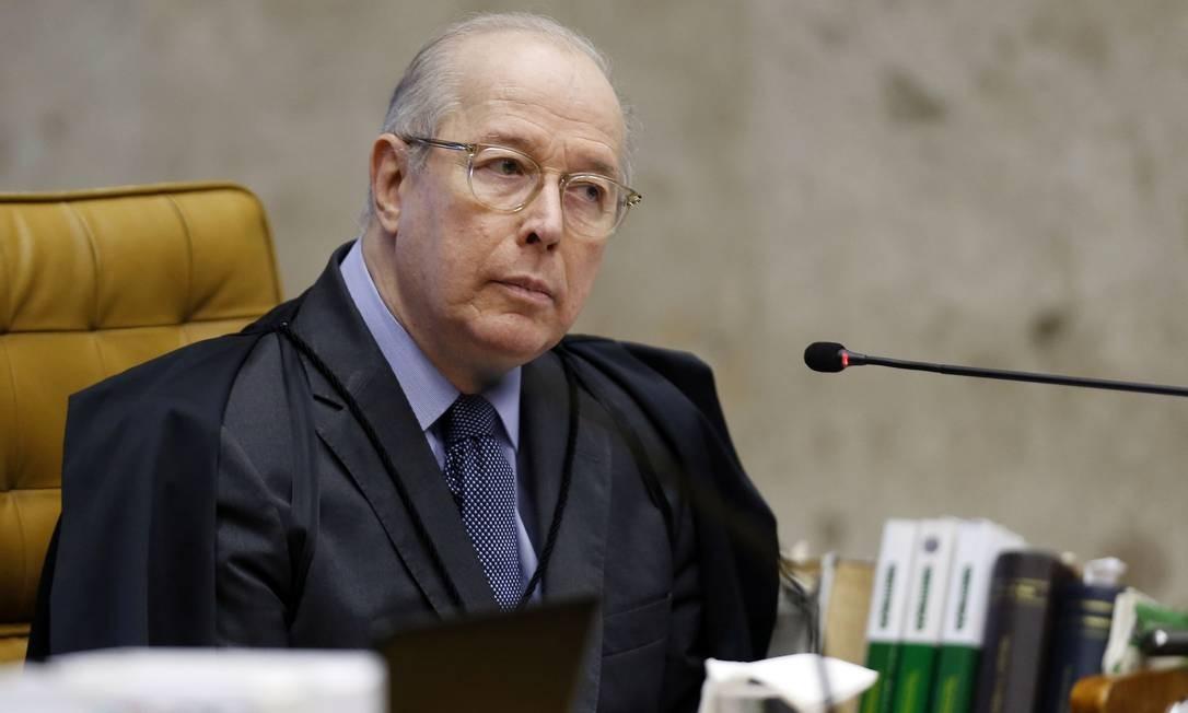 O ministro Celso de Mello Foto: Jorge William / Agência O Globo