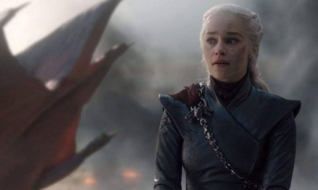 Daenerys no penúltimo episódio de Game of Thrones Foto: Divulgação