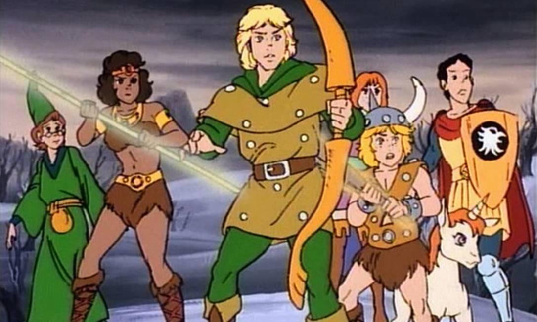Personagens do desenho Caverna do Dragão vão voltar em comercial de TV Foto: Reprodução / Reprodução