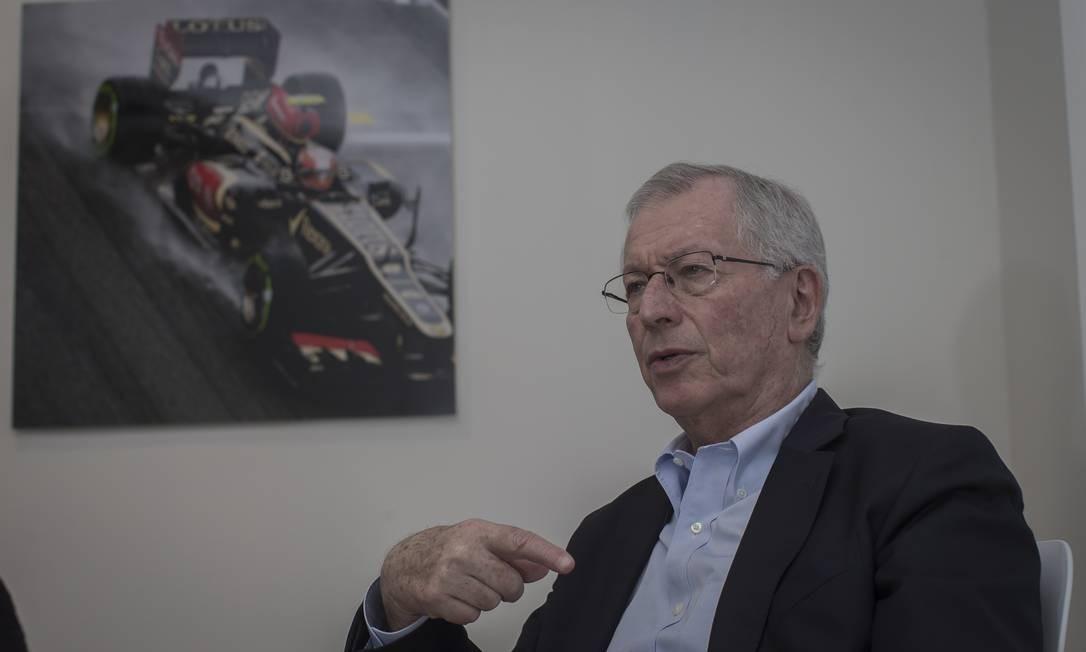 Tamas Rohonyi, diretor da Interpub e promotor do Grande Prêmio Brasil de F1 Foto: Edilson Dantas / Agência O Globo