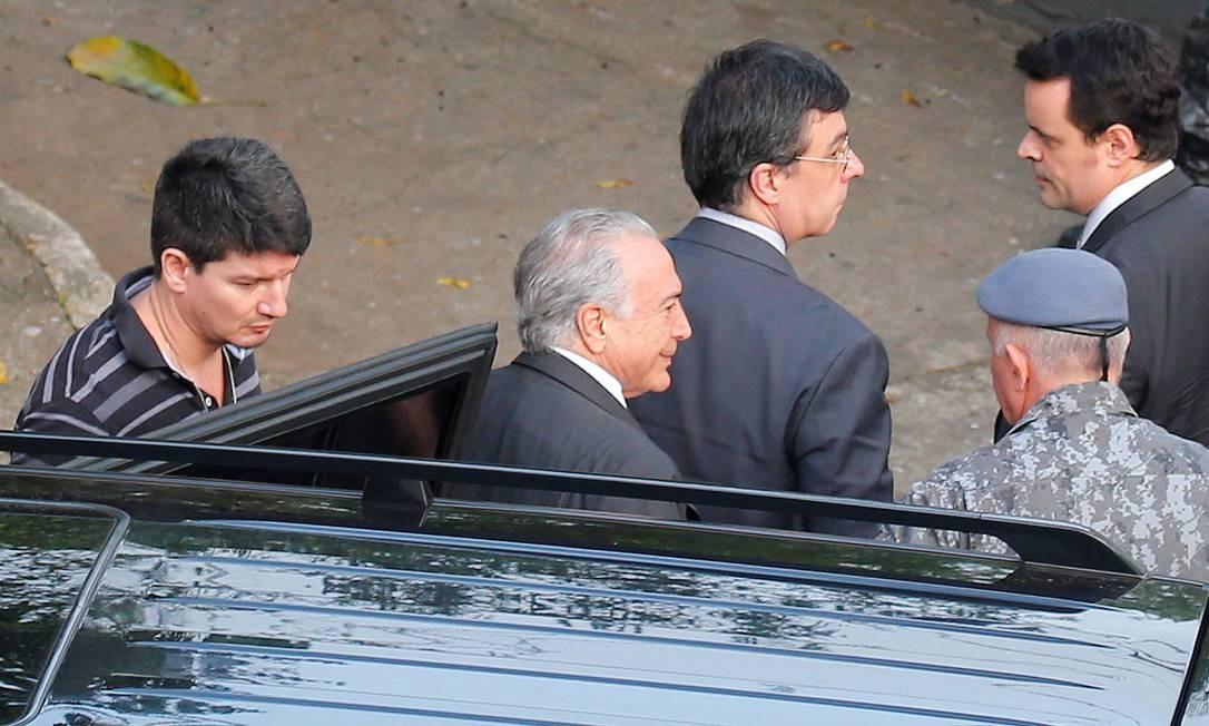 O ex-presidente Michel Temer é réu em processo sobre propina nas obras de Angra 3 Foto: Nacho Doce / REUTERS