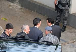 Michel Temer é transferido da PF para batalhão da Polícia Militar Foto: Nacho Doce / REUTERS