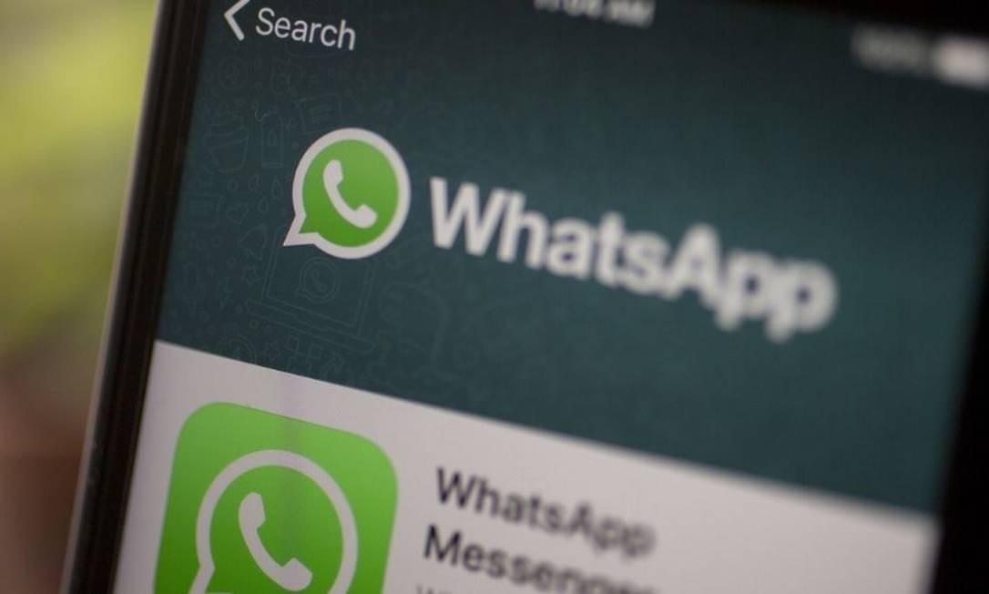 Falha no software foi descoberta no início do mês pelo WhatsApp Foto: / Bloomberg