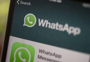 Falha no software foi descoberta no início do mês pelo WhatsApp Foto: Bloomberg