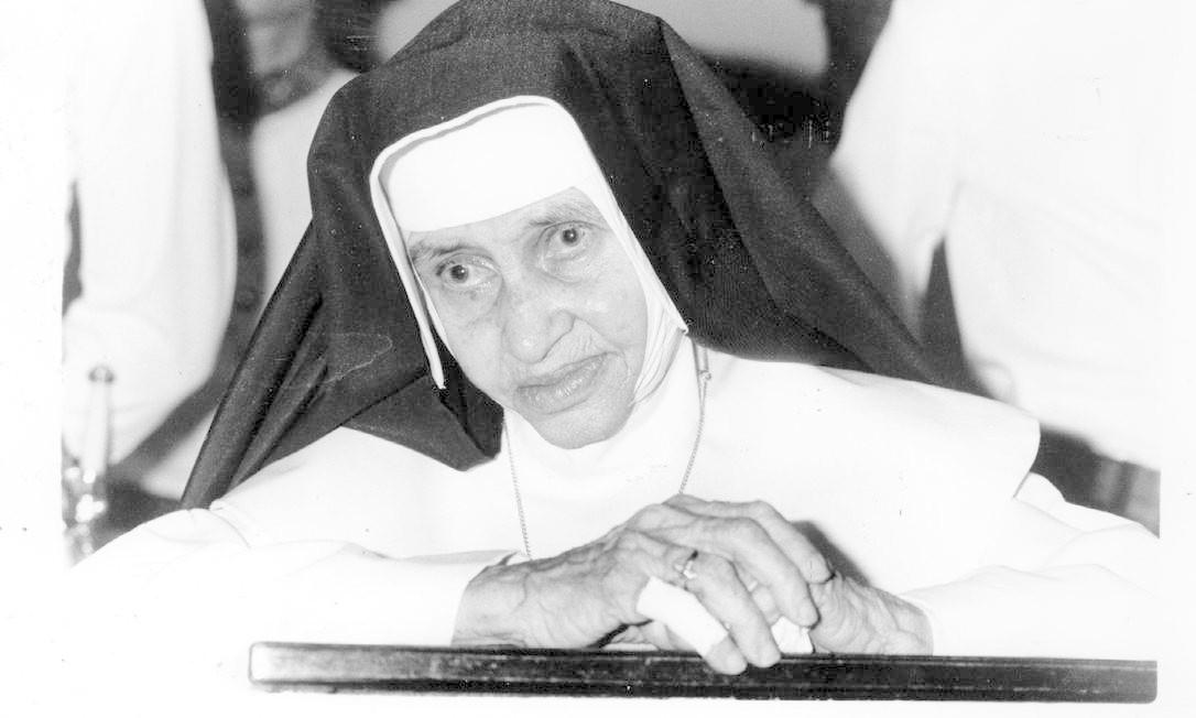 Irmã Dulce , a primeira mulher nascida no Brasil que se tornará santa , será canonizada no dia 13 de outubro de 2019, em uma celebração presidida pelo Papa Francisco, no Vaticano, em Roma. Na imagem, um retrato dela em janeiro de 1992 Foto: Divulgação