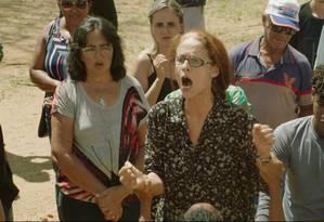 Sonia Braga em cena do filme 'Bacurau' Foto: Divulgação