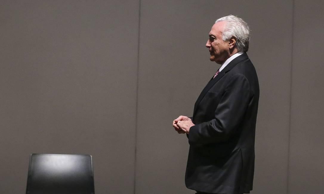 O ex-presidente Michel Temer terá novo pedido de liberdade votado hoje pela Sexta Turma do Superior Tribunal de Justiça (STJ) Foto: Antonio Cruz / Agência Brasil