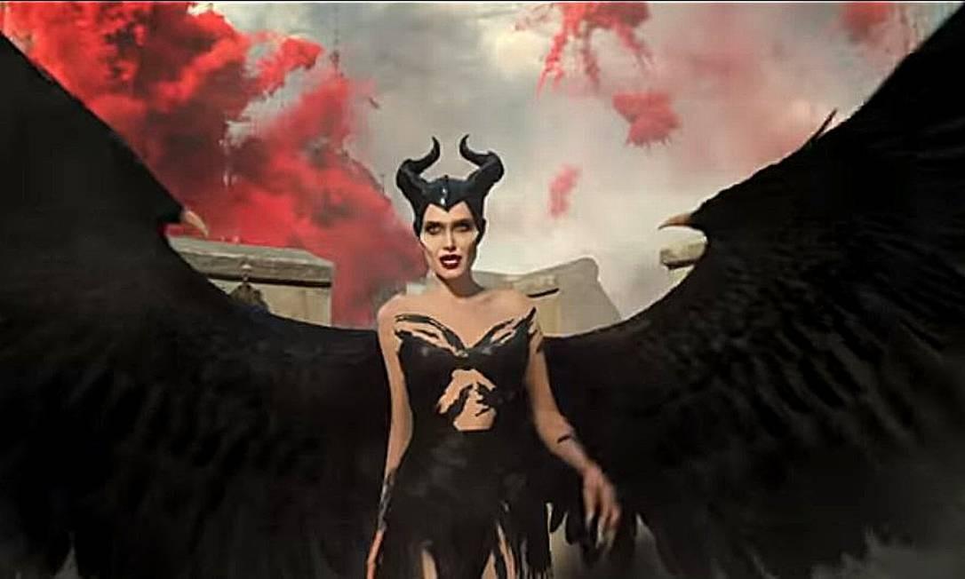 Angelina Jolie é Malévola Foto: Divulgação