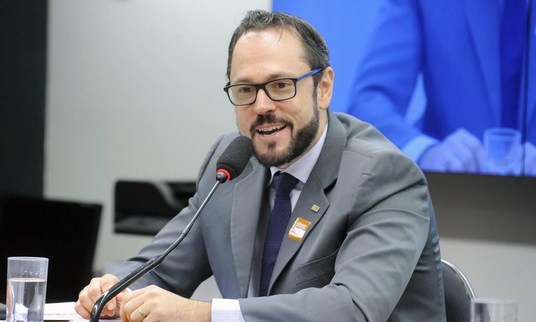 O presidente do Inep, Elmer Vicenzi, durante audiência na Câmara Foto: Cleia Viana/Câmara dos Deputados