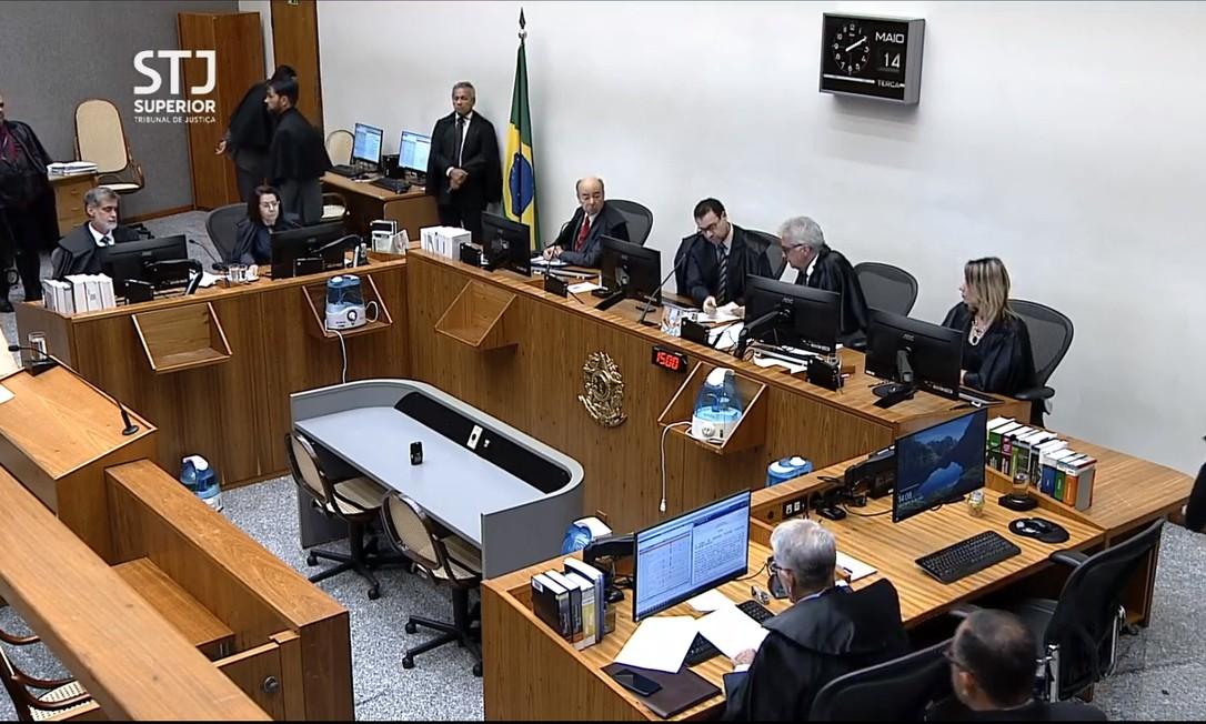 STJ julga pedido de liberdade de Michel Temer e Coronel Lima, presos no âmbito da operação Descontaminação Foto: Reprodução