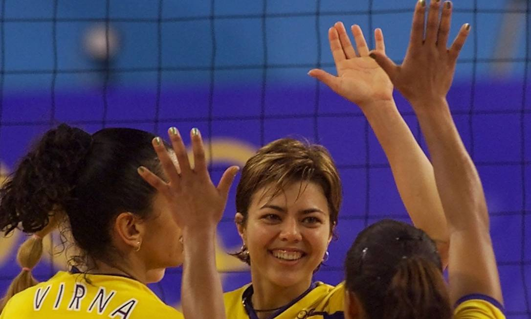 A ex-jogadora de vôlei Leila é relatora de um projeto de lei que exige premiação igual para homens e mulheres em competições esportivas Foto: Beth A. Keiser / AP