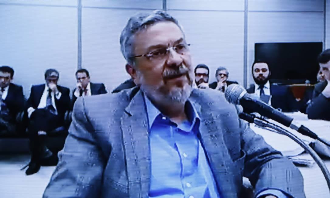 Moro foi criticado por divulgar parte da delação do ex-ministro Antonio Palocci durante a campanha eleitoral de 2018 Foto: Reprodução