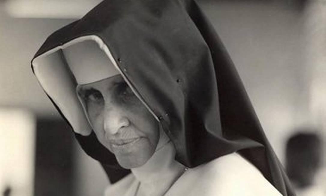 A Irmã Dulce, que será canonizada Foto: Divulgação / Obras Sociais Irmã Dulce
