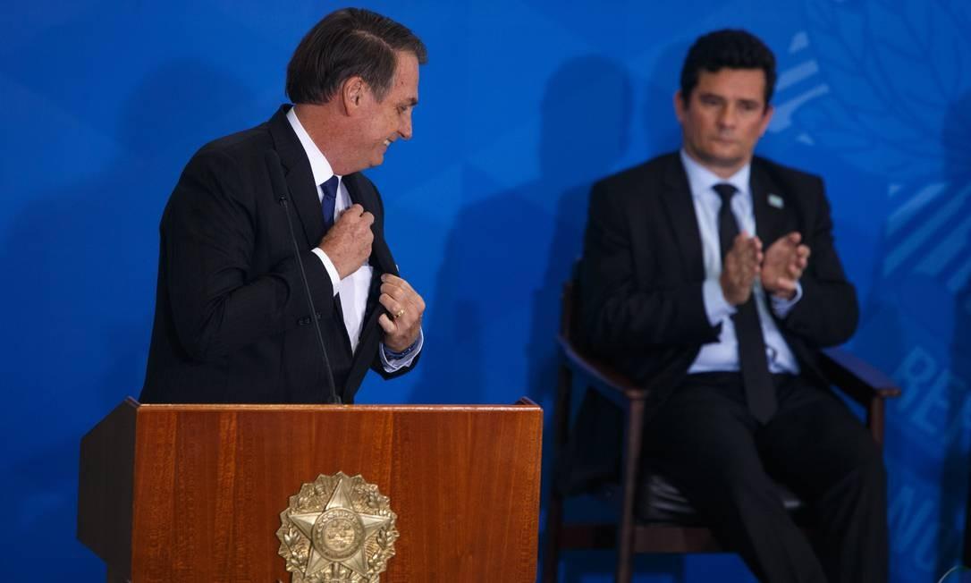 Moro defende que lista tríplice para PGR seja seguida Foto: Daniel Marenco / Agência O Globo